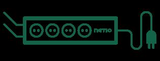 NETIO 4All smart PDU module is controllable via M2M protocols - MQTT, SNMP, Modbus
