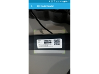 Smart connect QR code of IQRF power cable