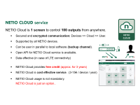 NETIO Cloud introduction - secured and reliable cloud service