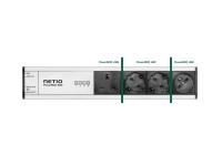 NETIO PowerBOX 4Kx power plug variants - DE schuko, FR and UK