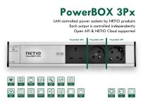 NETIO PowerBOX smart power strip LAN 230V with Open API