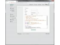 PowerPDU 4C can run custom scripts written in the Lua language.