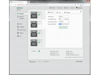 NETIO PowerPDU 4C controllable over LAN via web interface