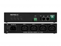 Metered and swiched small PDU NETIO PowerPDU 4C with 4x IEC-320 outputs