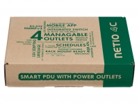 Web controlled power unit NETIO PowerPDU 4C with Scheduler and PING Watchdog function
