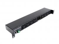 NETIO PowerPDU 8QS is a PDU with 8x IEC-320 C13 electrical outputs 230V 10A each