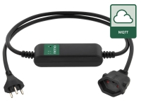 NETIO PowerCable MQTT power socket with power metering for energy analysis from any cloud (MQTT)