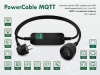 Chytrá zásuvka NETIO PowerCable MQTT ovládaná z jakéhokoliv Cloudu