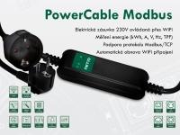 WiFi power socket NETIO PowerCable Modbus 101x