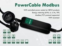 WiFi controlled PowerCable Modbus 101E (FR socket) with Open API