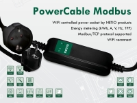 PowerCable Modbus 101F Wifi prolong cable with power measurement