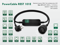 Chytrá WiFi zásuvka NETIO PowerCable REST 101x 230V/16A