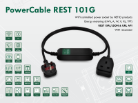 Smart electrical cable NETIO PowerCable REST 101G