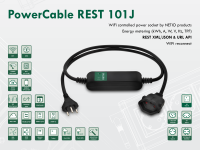 Smart electrical cable NETIO PowerCable REST 101J