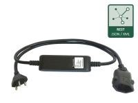 PowerCable REST Type J (Swiss) with precise electrical measurement