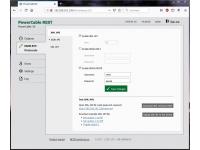Power socket with open REST API - XML, JSON, URL - M2M protocols