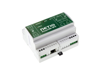 PowerDIN 4PZ NETIO smart electricity meter with RJ45 ethernet, LAN or WiFi connectivity