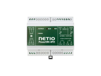 NETIO PowerDIN 4Pz smart electricity meter for 230V with two dry contact DI digital inputs