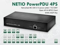 Switched PDU NETIO PowerPDU 4PS Power Distribution Unit with four power outlets