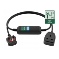 PowerCable IQRF smart power extension cable remote controllable over LPWAN IQRF network