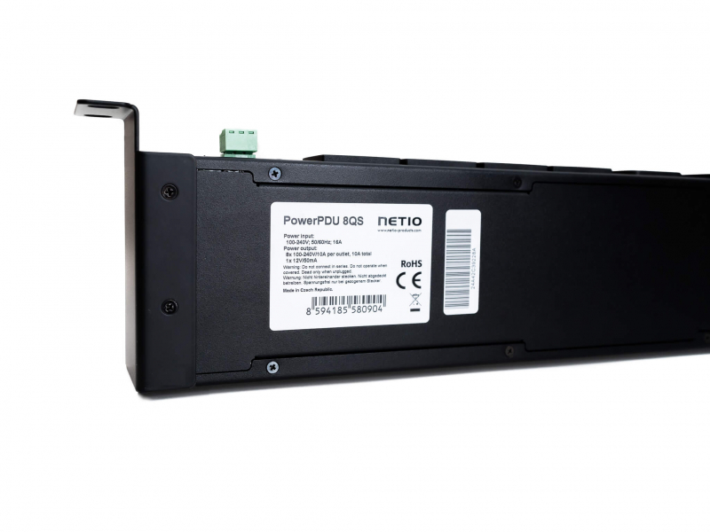 NETIO PowerPDU 8QS switched and metered IP PDU 230V