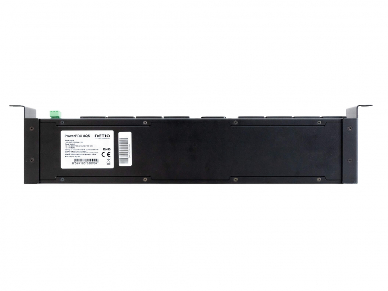 NETIO PowerPDU 8QS switched IP PDU with eight IEC-320 C13 outputs