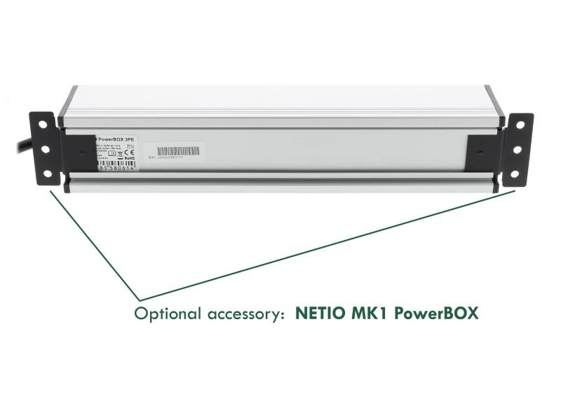 Optional accessory NETIO MK1 PowerBOX