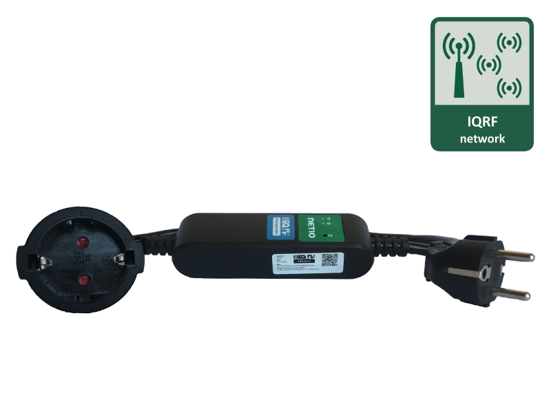QR code for easy first installation of PowerCable IQRF