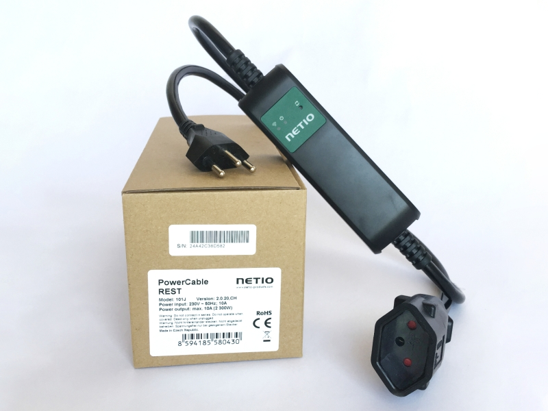 Type J Swiss plug smart power socket NETIO