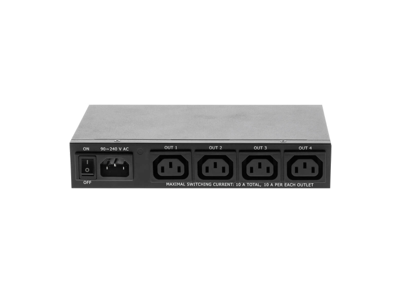 NETIO PowerPDU 4PS LAN Ethernet controlled PDU 230V