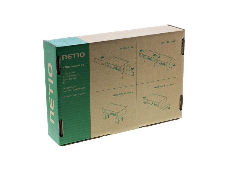 NETIO PowerPDU 4PS rack PDU power distribution unit with Open API