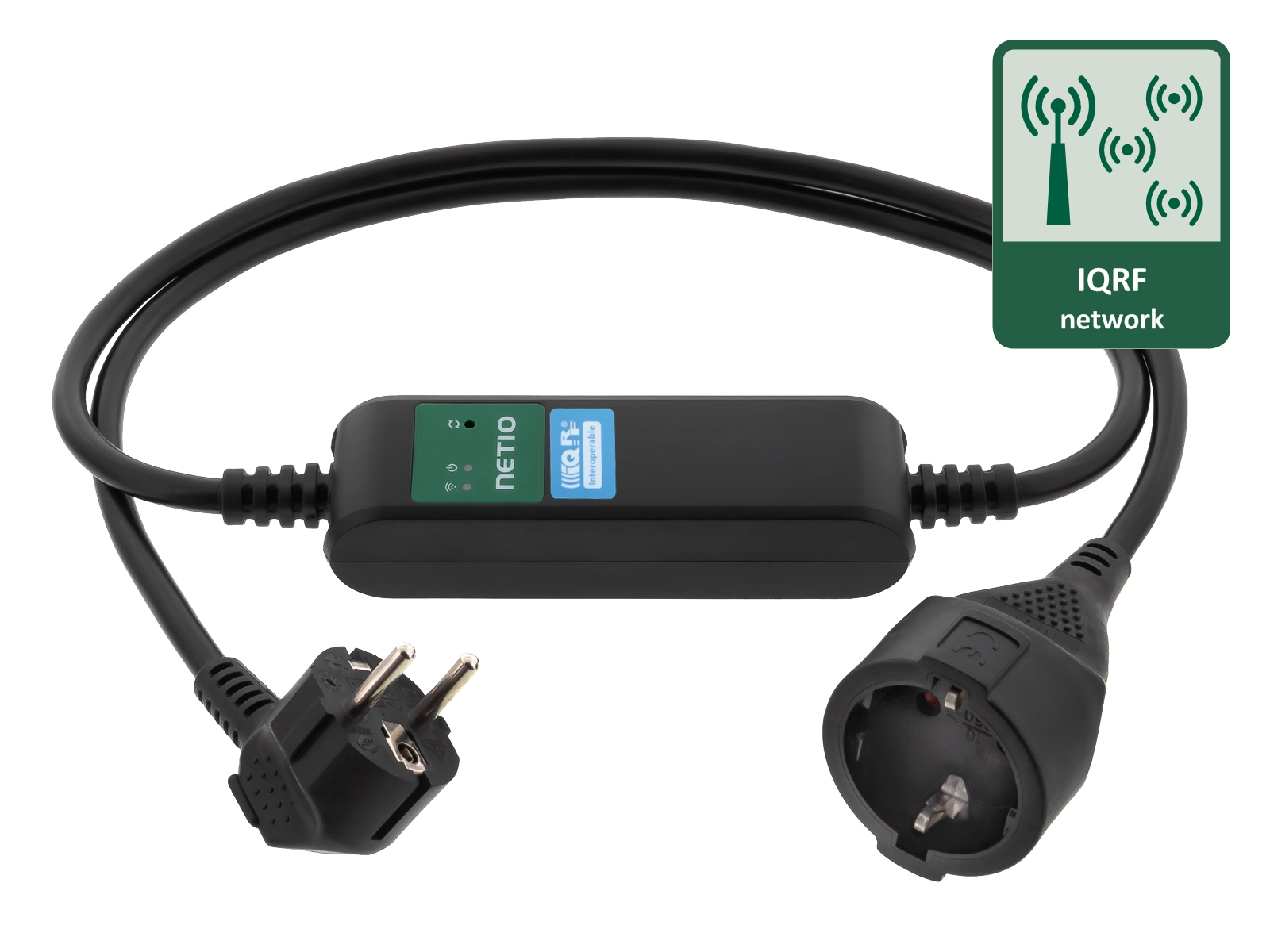 IQRF LPWAN network controlled power socket PowerCable IQRF