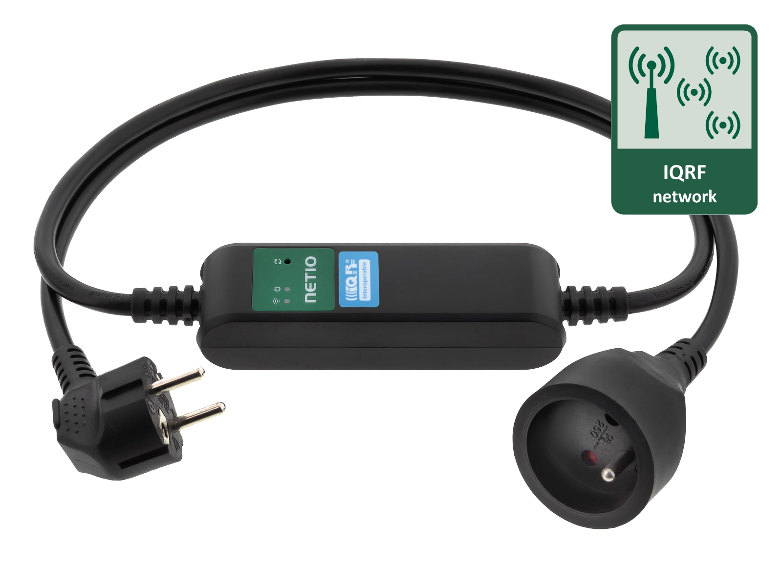 PowerCable IQRF LPWAN power socket Type E (FR)