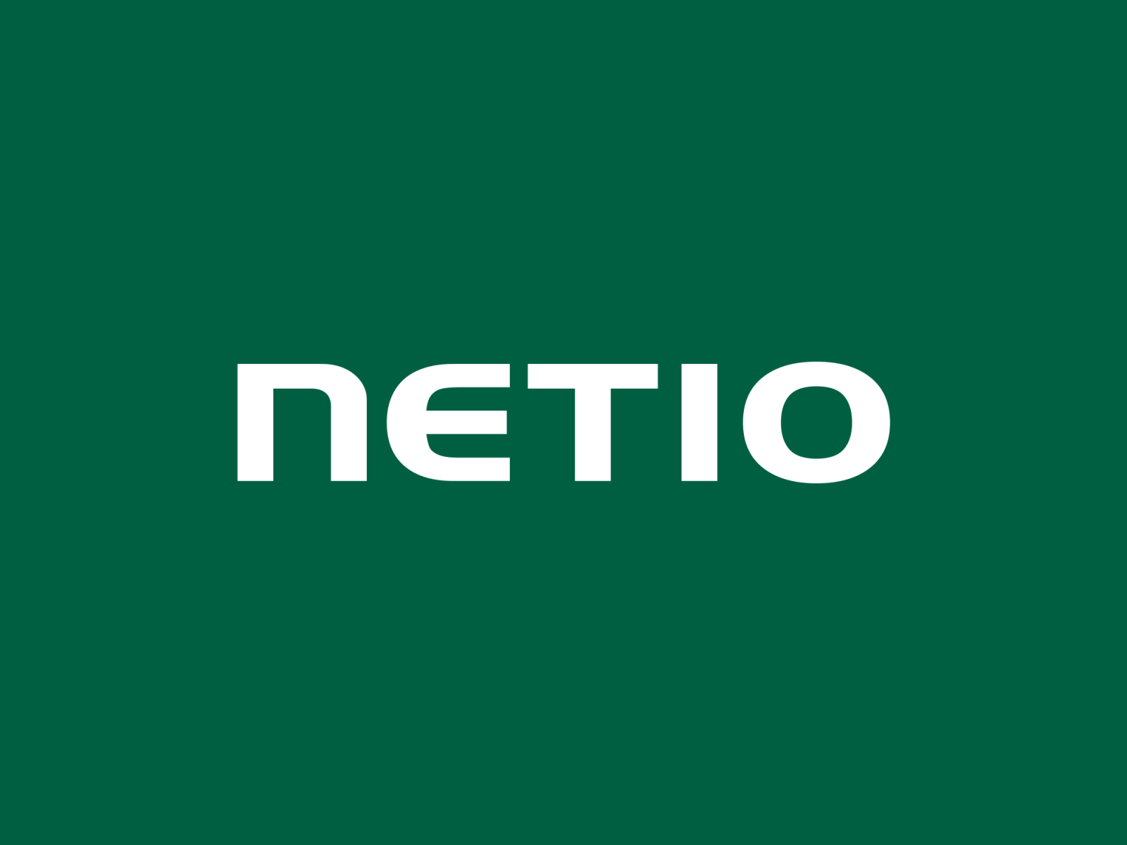 NETIO products company logo with green background