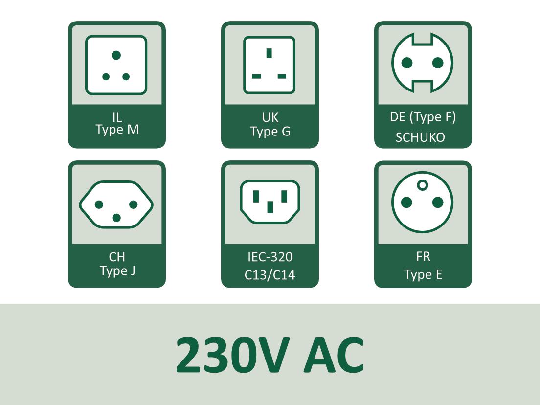 230V AC