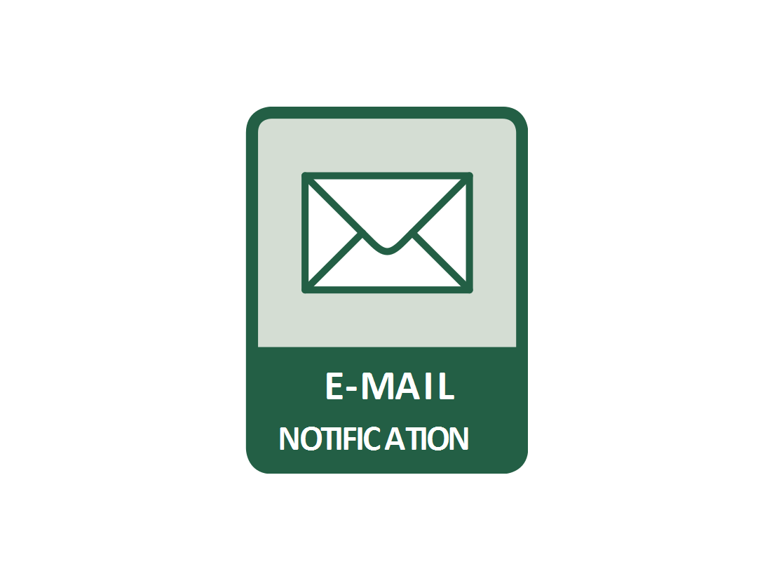 Email alerts are possible to set in networked power sockets NETIO