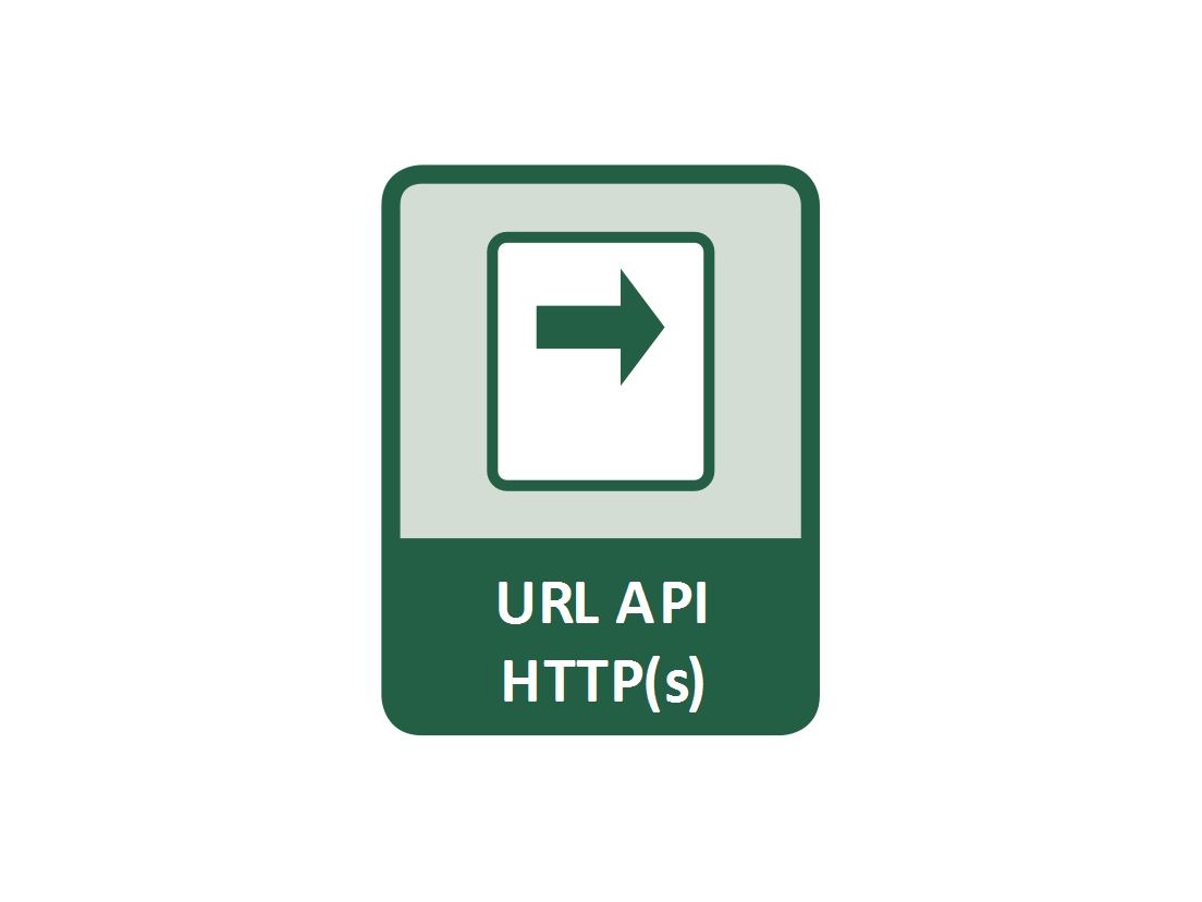 Popular protocol for passing commands as parameters in the web browser address bar