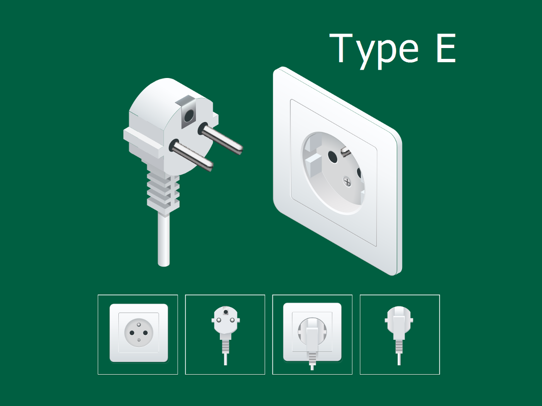French electrical socket type E