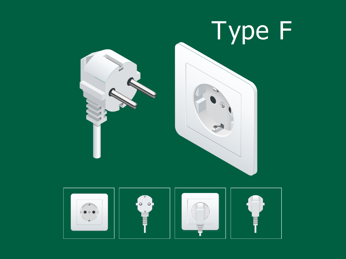 German schuko electrical plug type