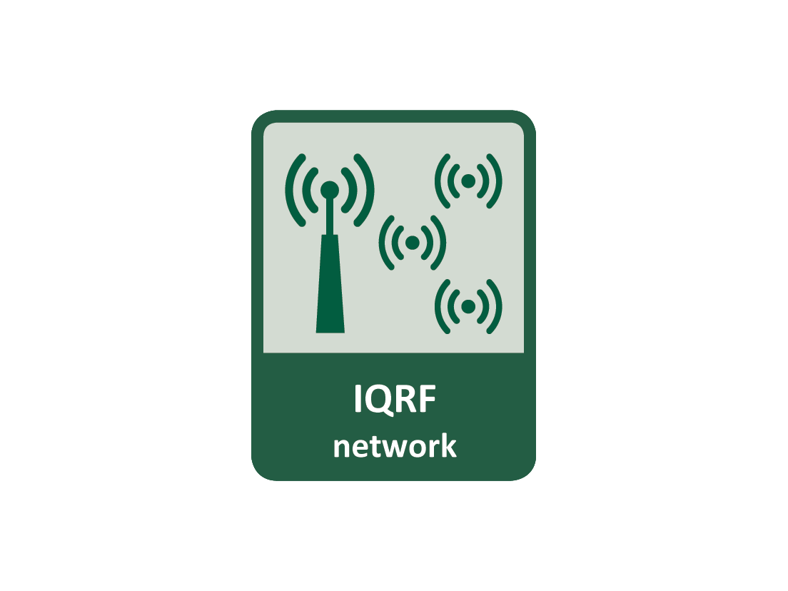 IQRF is a wireless LPWAN (Low Power Wide Area Network) operating at 868 / 915 MHz (ISM band), managed by the IQRF Alliance