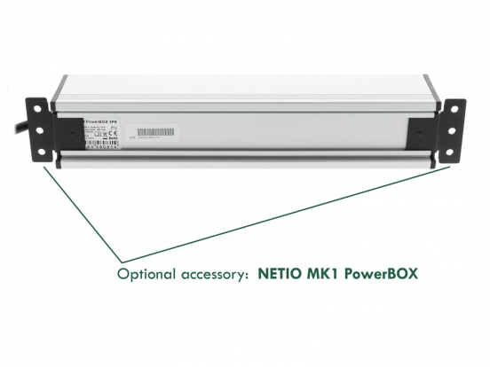 Optional accessory NETIO MK1 PowerBOX